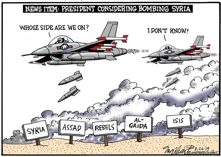 Bombing Syria sm