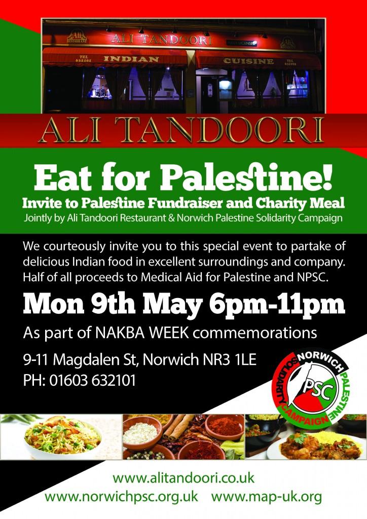 NPSC Charity Meal 2016